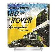 Land Rover Shower Curtain