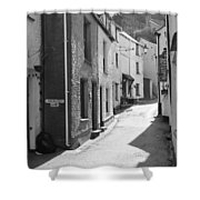 Landaviddy Lane Shower Curtain