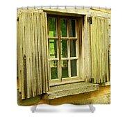 Landis Valley Window Shower Curtain