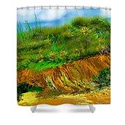 Landscape 012711 Shower Curtain