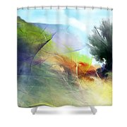 Landscape 02-05-10 Shower Curtain