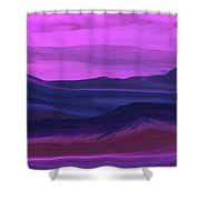 Landscape 022011 Shower Curtain