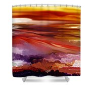 Landscape 022511 Shower Curtain