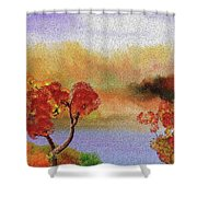 Landscape 031111 Shower Curtain