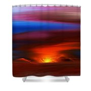 Landscape 081010 Shower Curtain