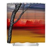 Landscape 090210 Shower Curtain
