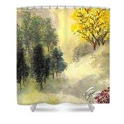 Landscape #1 Shower Curtain