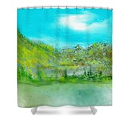 Landscape 101510 Shower Curtain