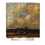 Landscape 1870 Shower Curtain