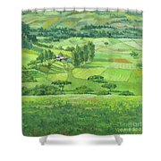 Landscape 3 Shower Curtain