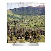 Landscape Alaska  Shower Curtain