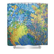 Alupka Palace Shower Curtain