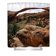 Landscape Arch -- Arches National Park Shower Curtain