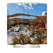 Landscape Arch - Arches National Park Moab Utah Shower Curtain