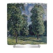Landscape At Sevres Shower Curtain
