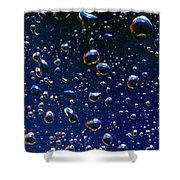 Landscape Bubbles Shower Curtain