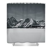 Landscape Contrast Shower Curtain