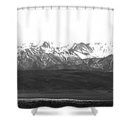 Landscape Contrast Shower Curtain