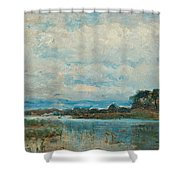 Landscape From The Surroundings Shower Curtain