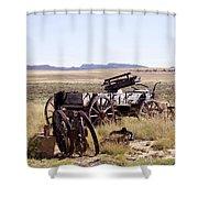 Landscape Galisteo Nm A10a Shower Curtain
