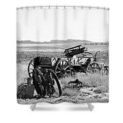 Landscape Galisteo Nm A10b Shower Curtain
