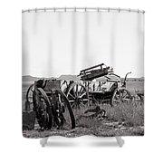 Landscape Galisteo Nm A10d Shower Curtain