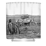 Landscape Galisteo Nm A10g Shower Curtain