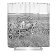 Landscape Galisteo Nm A10k Shower Curtain