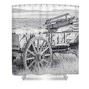 Landscape Galisteo Nm A10n Shower Curtain