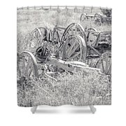 Landscape Galisteo Nm A10t Shower Curtain