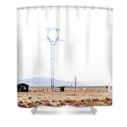 Landscape Galisteo Nm H10a Shower Curtain