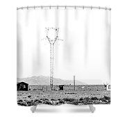Landscape Galisteo Nm H10b Shower Curtain