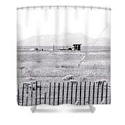 Landscape Galisteo Nm H10r Shower Curtain