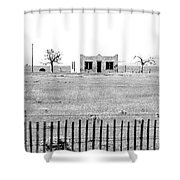 Landscape Galisteo Nm H10w Shower Curtain
