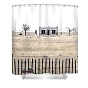 Landscape Galisteo Nm H10x Shower Curtain
