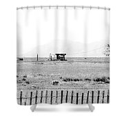 Landscape Galisteo Nm I10b Shower Curtain