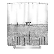 Landscape Galisteo Nm I10f Shower Curtain