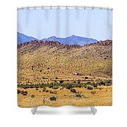 Landscape Galisteo Nm I10n Shower Curtain