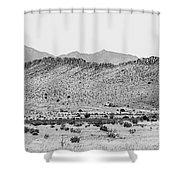 Landscape Galisteo Nm I10o Shower Curtain
