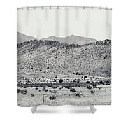 Landscape Galisteo Nm I10p Shower Curtain