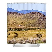 Landscape Galisteo Nm I10s Shower Curtain