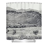 Landscape Galisteo Nm I10u Shower Curtain