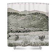 Landscape Galisteo Nm I10v Shower Curtain
