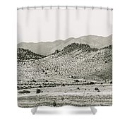 Landscape Galisteo Nm J10b Shower Curtain