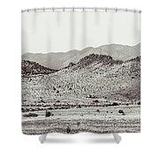 Landscape Galisteo Nm J10c Shower Curtain