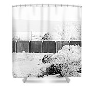 Landscape Galisteo Nm J10g Shower Curtain