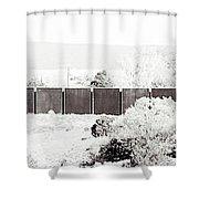 Landscape Galisteo Nm J10h Shower Curtain
