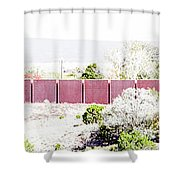 Landscape Galisteo Nm J10l Shower Curtain