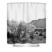 Landscape Galisteo Nm J10o Shower Curtain