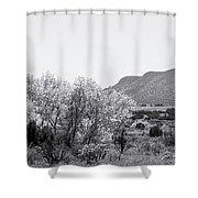 Landscape Galisteo Nm J10p Shower Curtain
